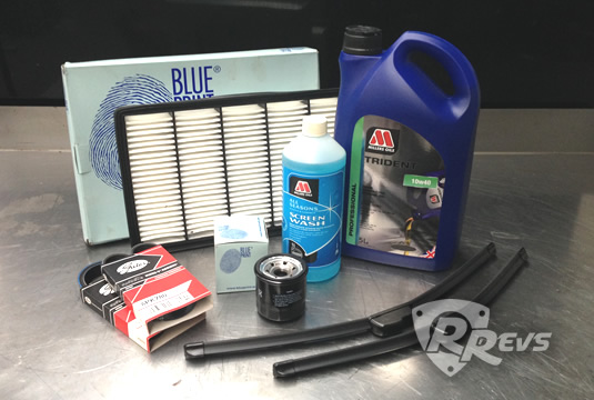 2nd Year Service Kit for Mazda RX-8