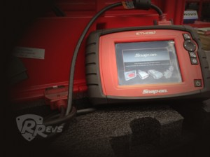 Rotary Revs Snap-on Diagnostic Tester