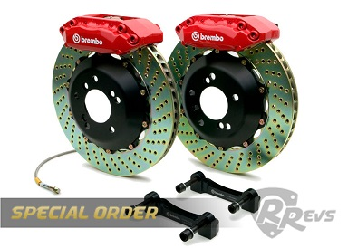 Brembo GT 328mm 4 Pot BBK items