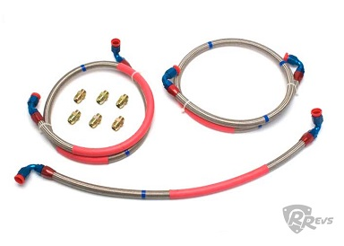 Racing Beat Oil line Kit - 04-08 RX8