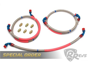 Racing Beat Oil line Kit - 09-11 RX8 items