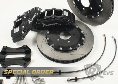 K-Sport 8 Pot 356mm Big Brake kit items