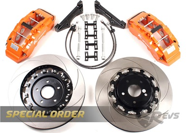 K-Sport 8 Pot 330mm Big Brake kit items