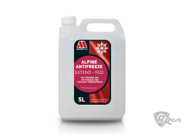Millers Oils Alpine Antifreeze RED 5 litres items
