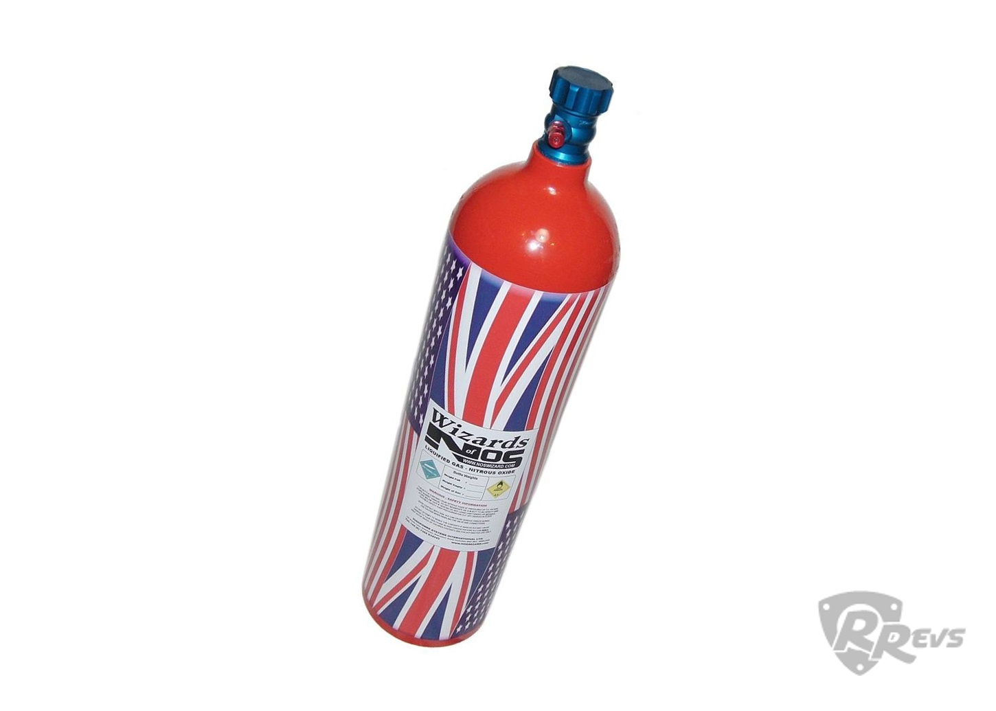 WON 11lb Nitrous Bottle - Black items
