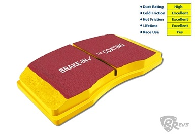 EBC Yellow Stuff Brake Pads (Rear) items