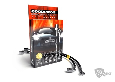 Goodridge Brake Hose kit - silver