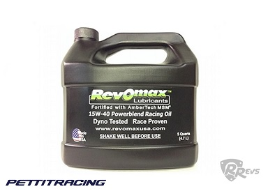 Pettit Racing Revomax Engine Oil 5 litres