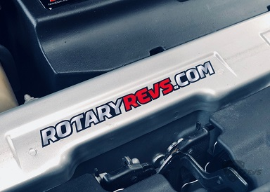 Rotary Revs Promo Sticker