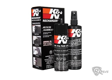 K&N Air Filter Cleaning Kit Recharger Pack items