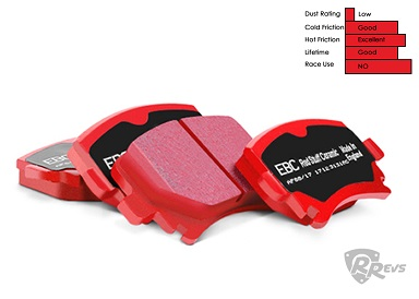 EBC Red Stuff Brake Pads (Rear)