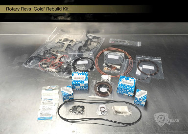 Rotary Revs Gold Rebuild Kit items